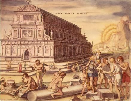 Las siete maravillas de la antigüedad. Nº 4 El Templo de Artemisa